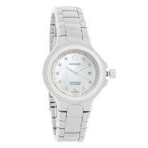 Movado Series 800 Ladies Diamond Stainless Steel Quartz Watch...