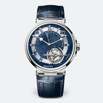 Breguet Platinum Automatic Blue 43.9mm new Marine