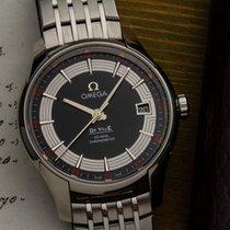 Omega De Ville Hour Vision tweedehands 41mm Zwart Datum Staal