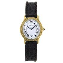 Cartier 18K Gold SANTOS Oval Ladies Dress Watch