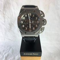 Audemars Piguet Chronograph 48mm Automatic 2004 pre-owned Royal Oak Offshore Chronograph Black