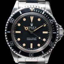 "Rolex 5513 Vintage Submariner 5513 ""Meters First"" SS VERY NICE..."