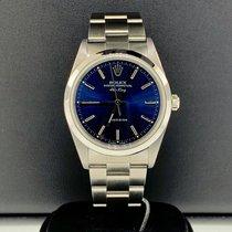 Rolex Air King Precision Acero 34mm Azul Romanos