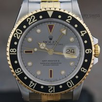 Rolex GMT-Master II Certi Dial Two-tone Jubilee Band