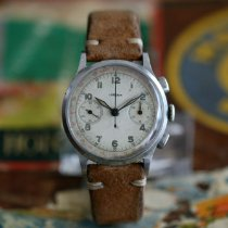Lemania Steel 37mm Manual winding pre-owned
