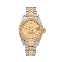 Rolex 26mm Automatic 1995 pre-owned Lady-Datejust Champagne