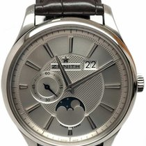 Zenith Captain Moonphase Steel 40mm Silver No numerals United States of America, Florida, Naples