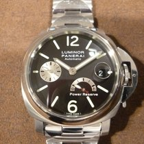 Panerai Luminor Power Reserve pre-owned 40mm Steel