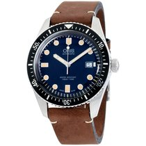 Oris Divers Sixty Five Steel 42mm Blue United States of America, New York, Brooklyn