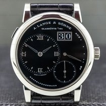 A. Lange & Söhne Lange 1 Platinum 38.5mm Black Roman numerals United States of America, Massachusetts, Boston