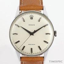 Rolex Oyster Precision Steel 35mm White No numerals United Kingdom, London