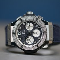Hublot Big Bang Jeans Acero 41mm Azul