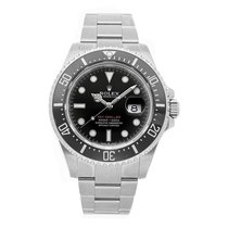 Rolex Sea-Dweller 4000 pre-owned 43mm Black Date Fold clasp