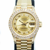 Rolex Lady-Datejust Yellow gold 26mm Champagne No numerals Singapore, Singapore