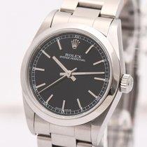 Rolex Oyster Perpetual 31 Stahl 31mm Schwarz Arabisch Deutschland, Hamburg