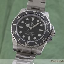 Rolex Submariner (No Date) Acél 40mm Fekete