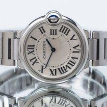 Cartier pre-owned Quartz 36mm Silver Sapphire Glass 3 ATM