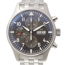 IWC IW377719 Steel Pilot Spitfire Chronograph 43mm new