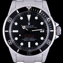 Rolex Sea-Dweller Stal 40mm Czarny