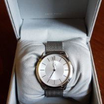 ck Calvin Klein pre-owned Quartz 40mm Silver 3 ATM