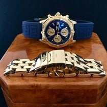 Breitling pre-owned Automatic 40.5mm Blue Sapphire crystal 3 ATM