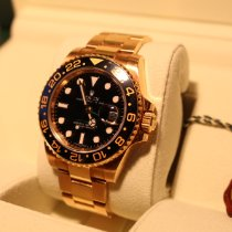 Rolex 116718LN Yellow gold 2009 GMT-Master II 40mm pre-owned United States of America, Florida, Miami