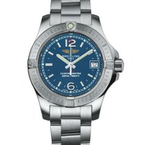 Breitling Colt Lady Staal 33mm Blauw