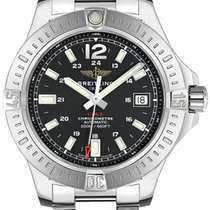 Breitling Colt Automatic Steel 41mm Black Arabic numerals