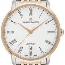 Maurice Lacroix Les Classiques Tradition Gold/Steel 38mm White
