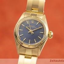 Rolex Oyster Perpetual 25mm Albastru