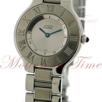 Cartier 21 Must de Cartier Steel 34mm Silver Roman numerals United States of America, New York, New York