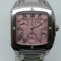 Mauboussin DELICIEUSE CHRONO 34MM PINK DIAL WITH DIAMONS