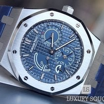 Audemars Piguet 26124st.oo.d018cr.01 Stål Royal Oak Dual Time ny