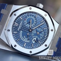 Audemars Piguet 26124st.oo.d018cr.01 Aço Royal Oak Dual Time