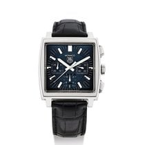TAG Heuer | A Stainless Steel Square Automatic Chronograph...