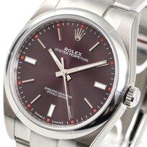 Rolex Oyster Perpetual 39 Red Grape 114300 LC100 NEU+MwSt/NEW+VAT