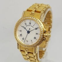 宝玑  Marine 18k Yellow Gold  Automatic 26mm Ladies Diamond Watch