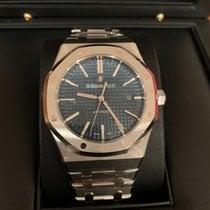 Audemars Piguet Royal Oak Selfwinding neu 2018 Automatik Uhr mit Original-Box und Original-Papieren 15400ST.OO.1220ST.03
