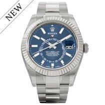 Rolex Sky-Dweller Blue Dial 326934 NEW