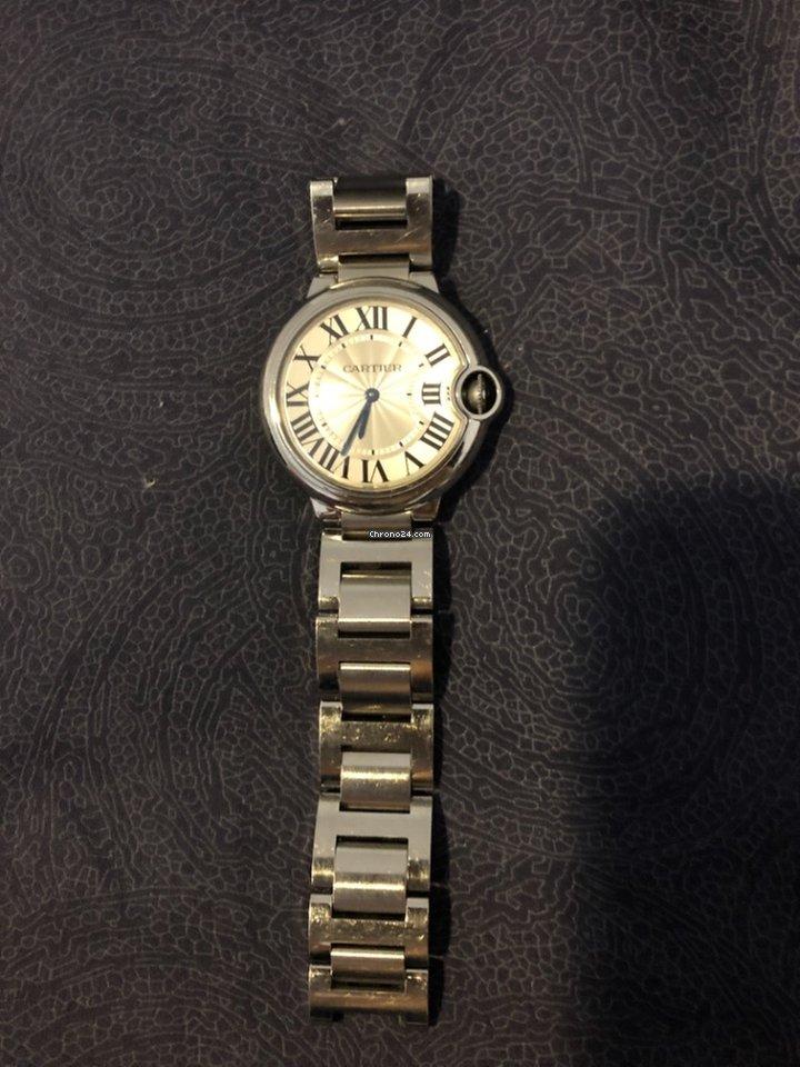 83cd6fe3353 Cartier Ballon Bleu - Todos os preços de relógios Cartier Ballon Bleu na  Chrono24
