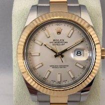 Rolex Datejust II Goud/Staal 41mm Romeins Nederland, Kerkrade