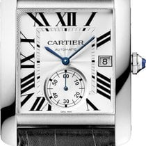 Cartier Tank MC Steel 34.3mm Silver Roman numerals United States of America, New York, New York