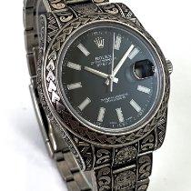 Rolex Datejust II gebraucht 41mm Stahl