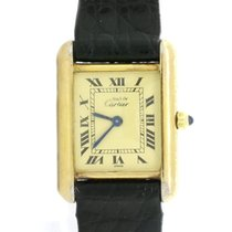 Cartier Tank Vermeil 21mm Champagne Roman numerals United States of America, New York, New York