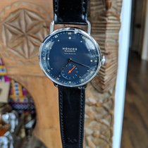 NOMOS Metro Neomatik Steel 35mm Blue United States of America, Louisiana, new orleans