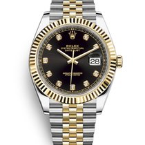 Rolex Datejust Gold/Steel 41mm Black No numerals United States of America, New Jersey, Totowa