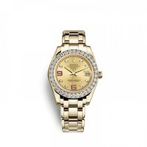 Rolex Pearlmaster Žluté zlato 34mm