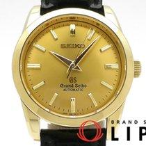 Seiko Yellow gold Automatic Champagne 35mm pre-owned Grand Seiko