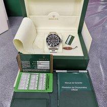 Rolex Sea-Dweller 4000 Staal Zwart Geen cijfers