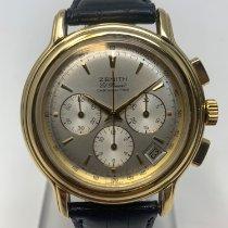 Zenith El Primero Chronomaster pre-owned 40mm Grey Leather